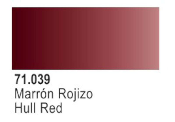 Vallejo Hull Red Paint, 17ml