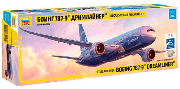 Zvezda - 7008 1/144 Boeing 787-8 Dreamliner - Plastic Model