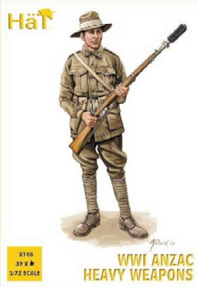 Model Figures - Anzac Heavy Weapons- 1:72 -HAT Industrie