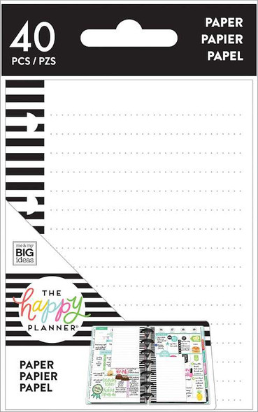 Happy Planner Tiny Lined Note Paper 40/Pkg