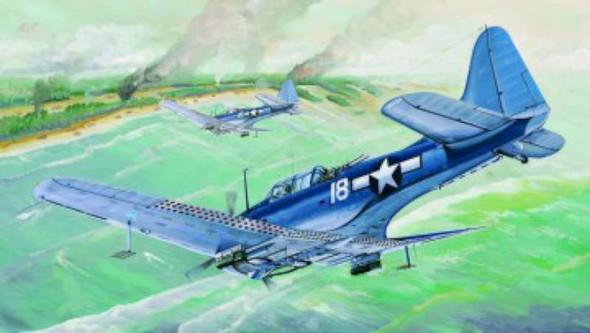 Trumpeter 1/32 SBD5/A24B Dauntless US Navy Aircraft