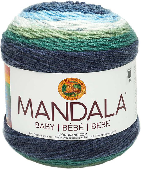 Lion Brand Yarn Mandala Baby Echo Caves