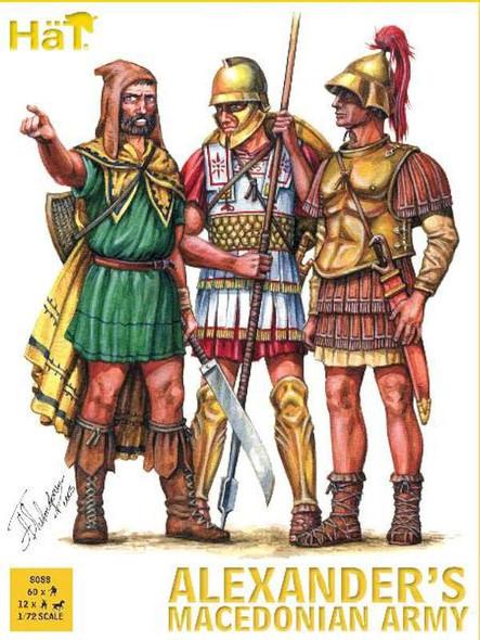 Model Figures - Aleksanders Macedonian Army- 1:72 -HAT Industrie