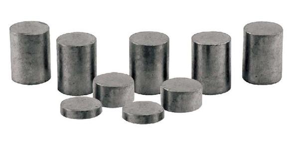 Pinecar P3915 Tungsten Incremental 3 oz Weights Cylinders