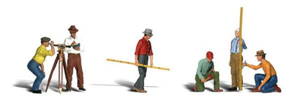 Woodland Scenics A2175 N Surveyors Figures People BCG