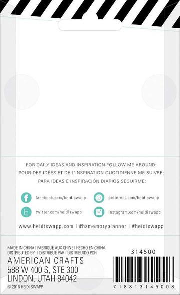 Heidi Swapp Memory Planner Scissors Color Fresh, Mini