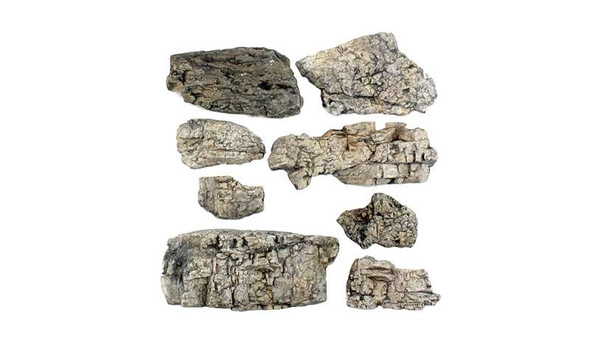 Woodland Scenics C1137 Ready Rocks Faceted Rocks Multi-Colored