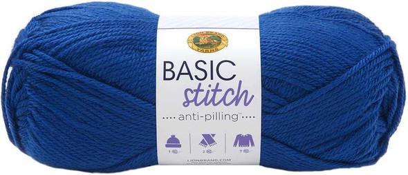 Lion Brand Yarn Basic Stitch Anti-Pilling Royal Blue