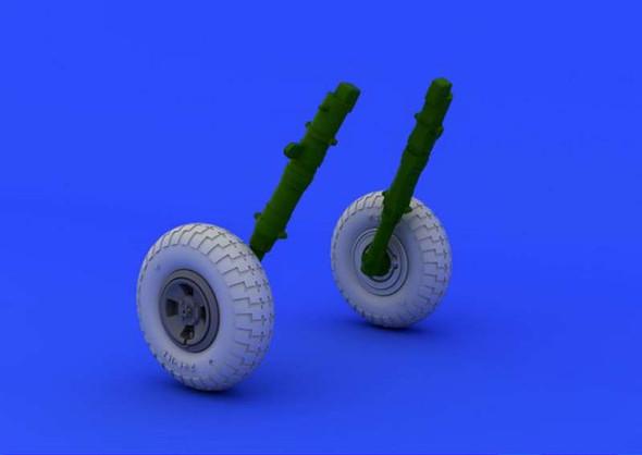 Spitfire wheels-4 spokeedu 1/48-Eduard UA648118- 1:48 -E