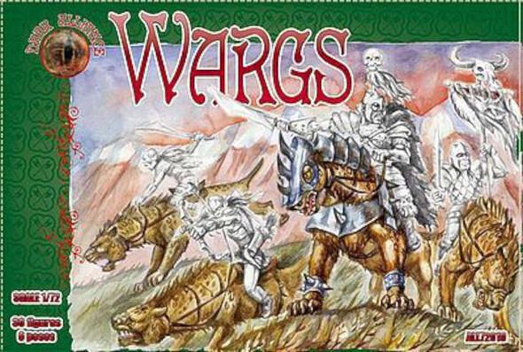 Wargs Figures -- Plastic Model Fantasy Figure -- 1/72 Scale -- #72019