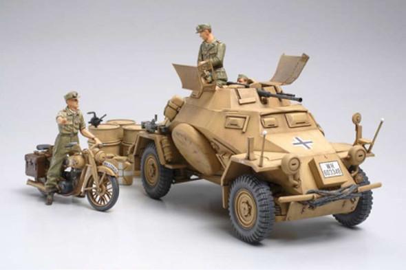Tamiya - 35286 1/35 Sd.Kfz.222 North Africa