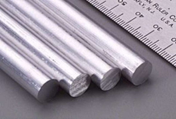 Value Brand 83047 Grainger Approved Aluminum Rods Rod stock,aluminum,3/8 in. Dia.