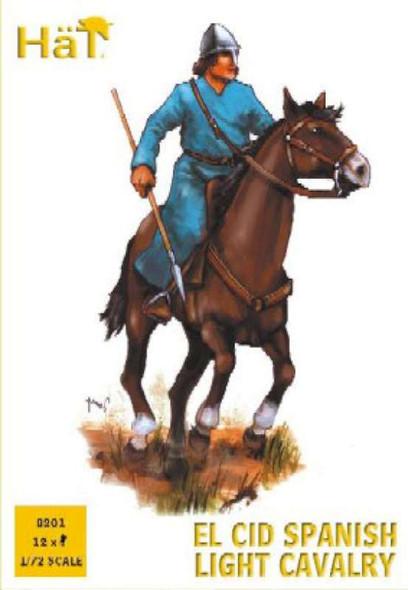 Model Figures - El CID Spanish Light Cavalry- 1:72 -HAT Industrie
