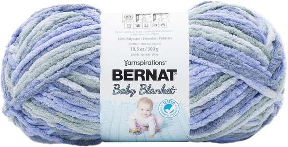 Bernat Baby Blanket Big Ball Yarn Lovely Blue