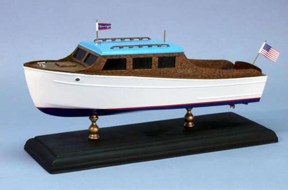 Dumas 12-1/2'' 1935 Chris Craft 25' Steamline Cruiser Laser Cut Kit