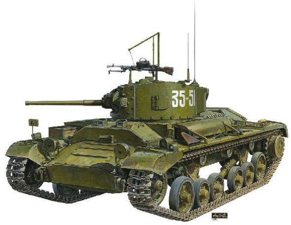 AFV Club AFV - Valentine Mk.IV Soviet Army Version (Plastic model)