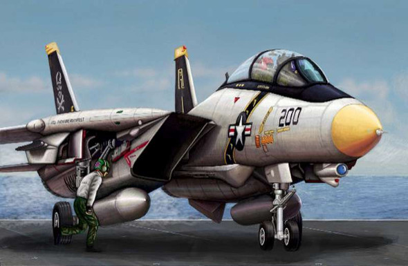 Trumpeter 1/144 F-14A Tomcat Fighter 3910