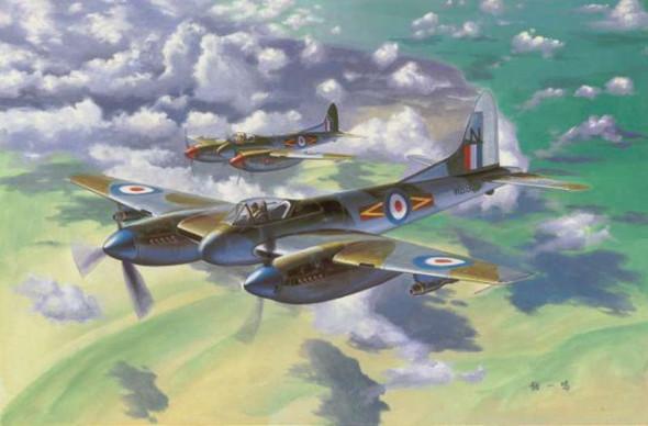 Trumpeter 1/48 DeHavilland Hornet F.3 Fighter 2894