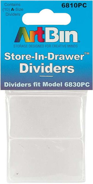 ArtBin Store-In-Drawer Dividers 10/Pkg Fits 6830PC