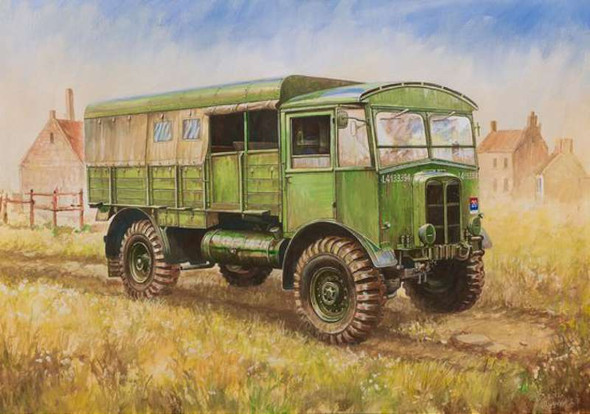 Zvezda 1/100 British WWII Truck Matador 6175