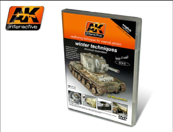 Winter Weathering Techniques for Invernal Vehicles PAL DVD