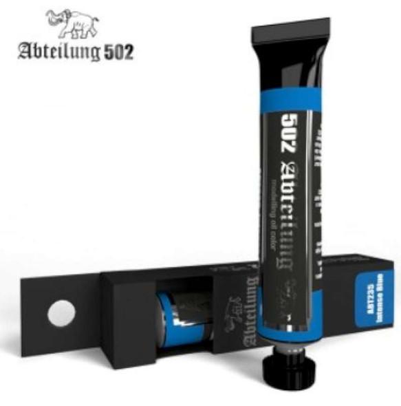 Weathering Oil Paint Intense Blue 20ml Tube
