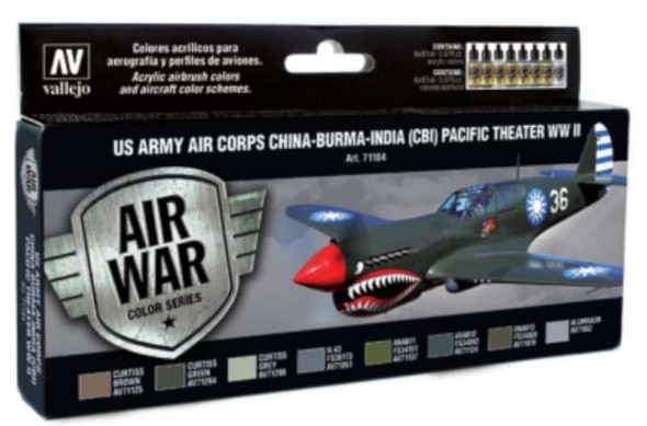 Vallejo Acrylic Paints US Army Air Corps China-Burma-India Pacific
