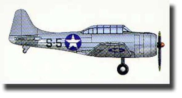Trumpeter 1/350 SBD3 Dauntless Aircraft Set for USS Hornet (10-Box)