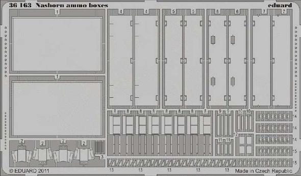1/35 Armor- Nashorn Ammo Boxes for AFV