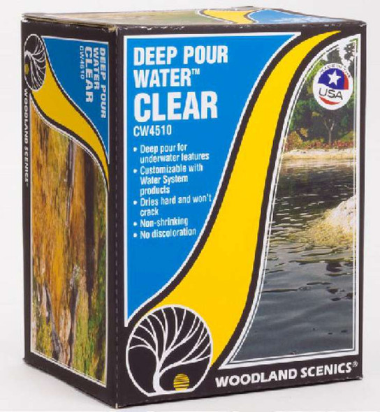 Woodland Scenics Deep Pour Water - Clear CW4510