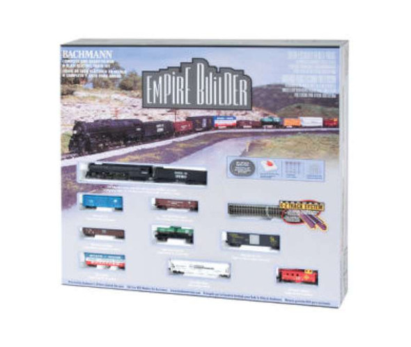 Bachmann Trains Empire Builder Electric Train Set, N Scale 24009-BT