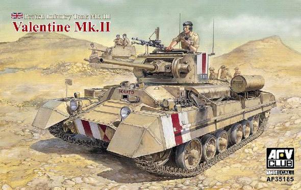 Valentine Mk.II British Infantry- 1:35 -AFV Club
