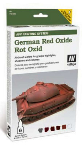 Vallejo AFV German Red Oxide Painting System