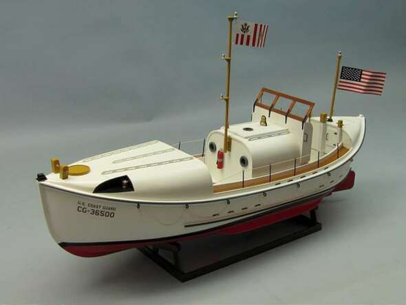 Dumas US Coast Guard Motor Lifeboat 36 1258