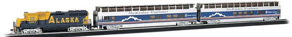 Bachmann 743 Alaska Railroad McKinley Explorer Train Set