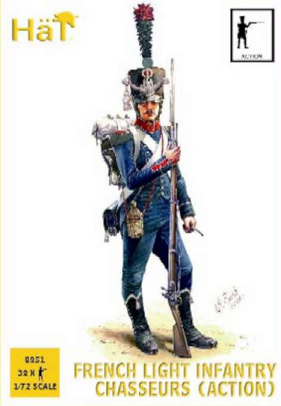 Hat Industries Figures French Chasseurs Action -- Plastic Model
