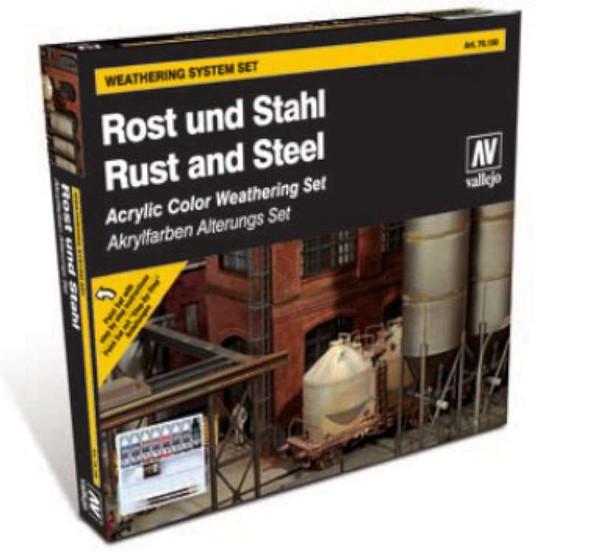 Model Color - Sets Model Color Rust & Steel Set New