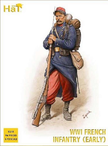 Hat Industrie Ww-I French Infantry 1914 (1:72)