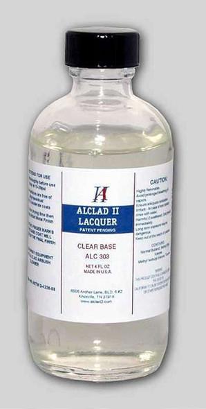 Alclad II Lacquers Clear Base/Plastic Primer 4oz 303