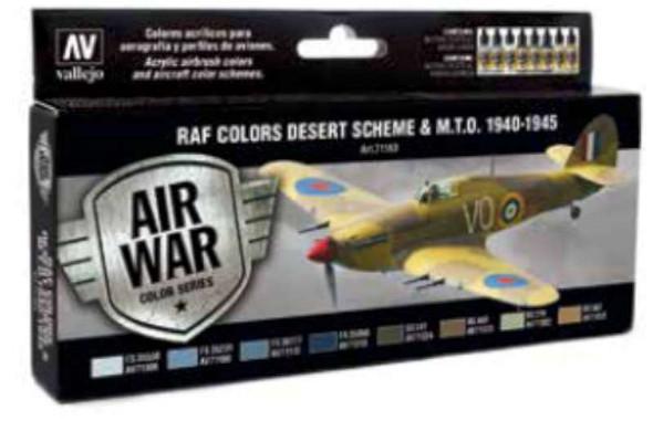 Model Air: WWII RAF Desert Set (8)
