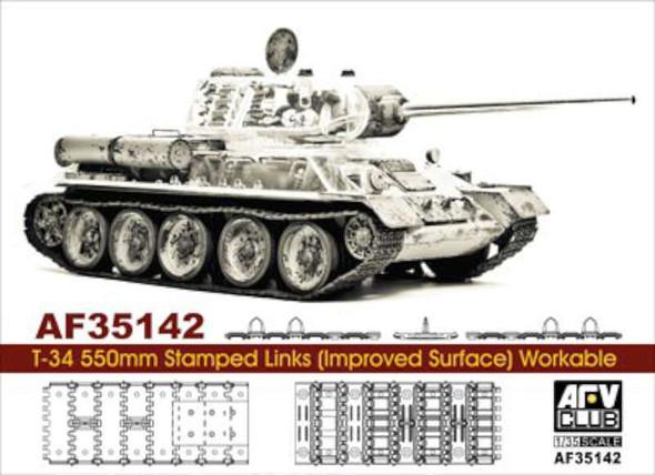 for T34 Tank 500mm Cast Link (Plastic model)