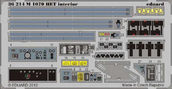 1/35 Armor- M1070 HET Interior for HBO