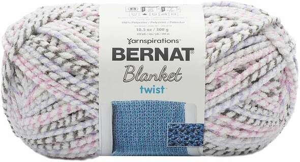 Bernat Blanket Twist Yarn Lilac Grove