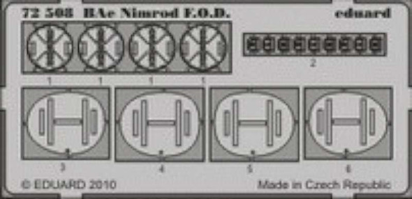 Bae Nimrod F.O.D. (designed to Be Assembled with Model K