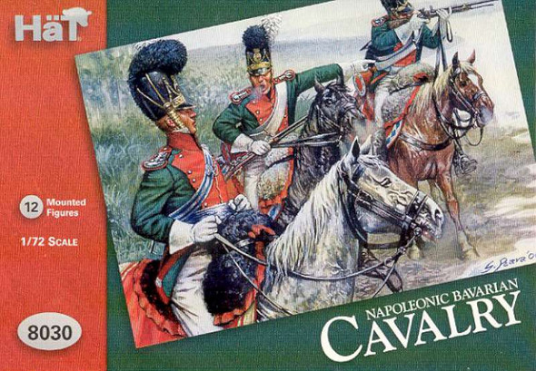 Hat Industries Figures Bavarian Cavalry -- 1/72 Scale Plastic Model