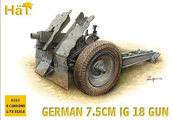 Hat Industrie WW-II Germans 75m IG18 (1:72)