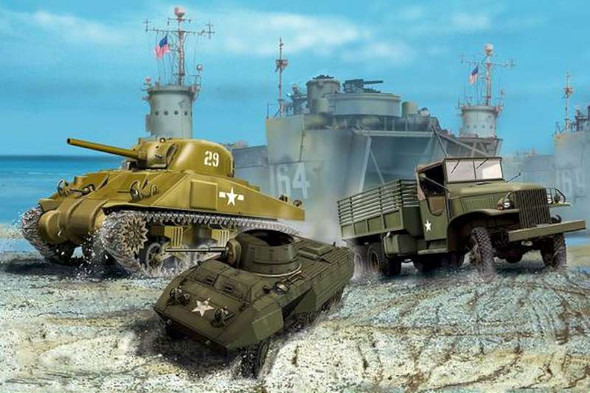 1/144 WWII US Army Vehicles
