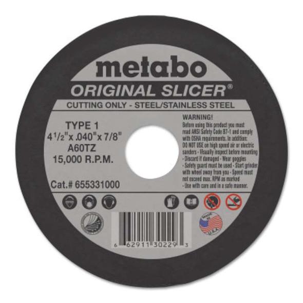 Metabo Original Slicers