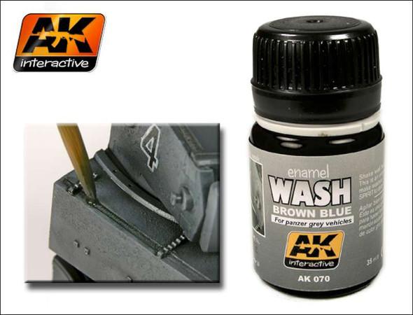 AK Interactive - Wash for Panzer Grey - AK00070