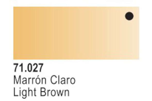 Vallejo Light Brown Paint, 17ml